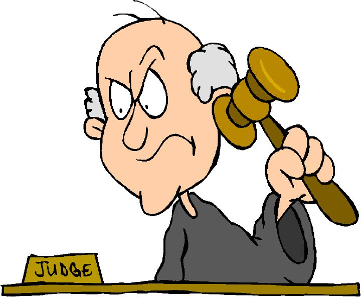 Cartoon Judge - Cliparts.co