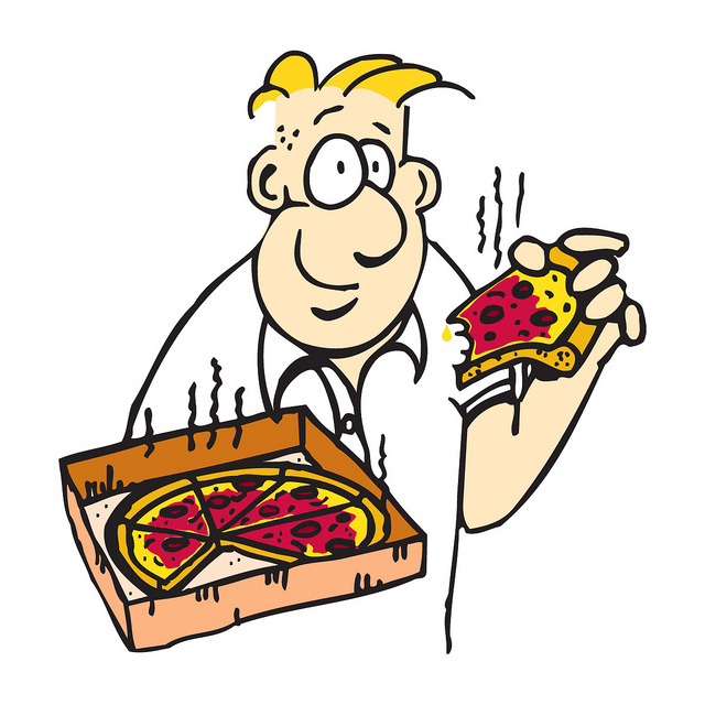 cartoon-pizza-man-brad-c-lawley | Flickr - Photo Sharing!