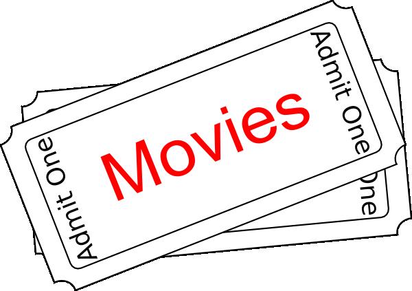 Raffle ticket clip art black and white