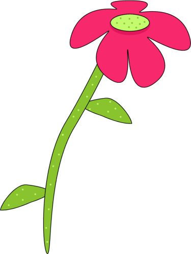 Picture Of A Pink Flower - Cliparts.co