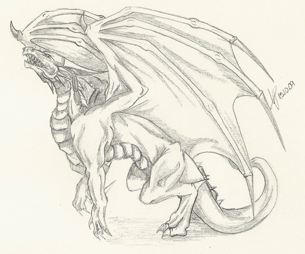 dragon drawing cliparts co