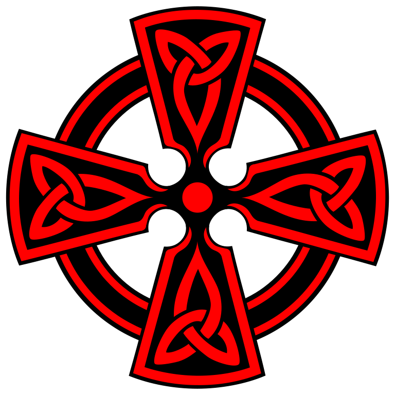 File:Celtic-Cross-Vodicka-decorative-triquetras-red.svg ...