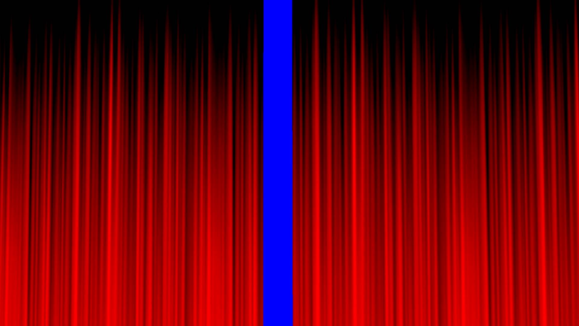 Real open stage curtains - Stage Curtain Blue Screen Clean Red Royalty Free Video Effect