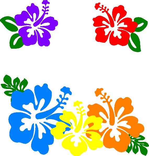 Hawaiian Flower Clip Art Borders | Clipart Panda - Free Clipart Images