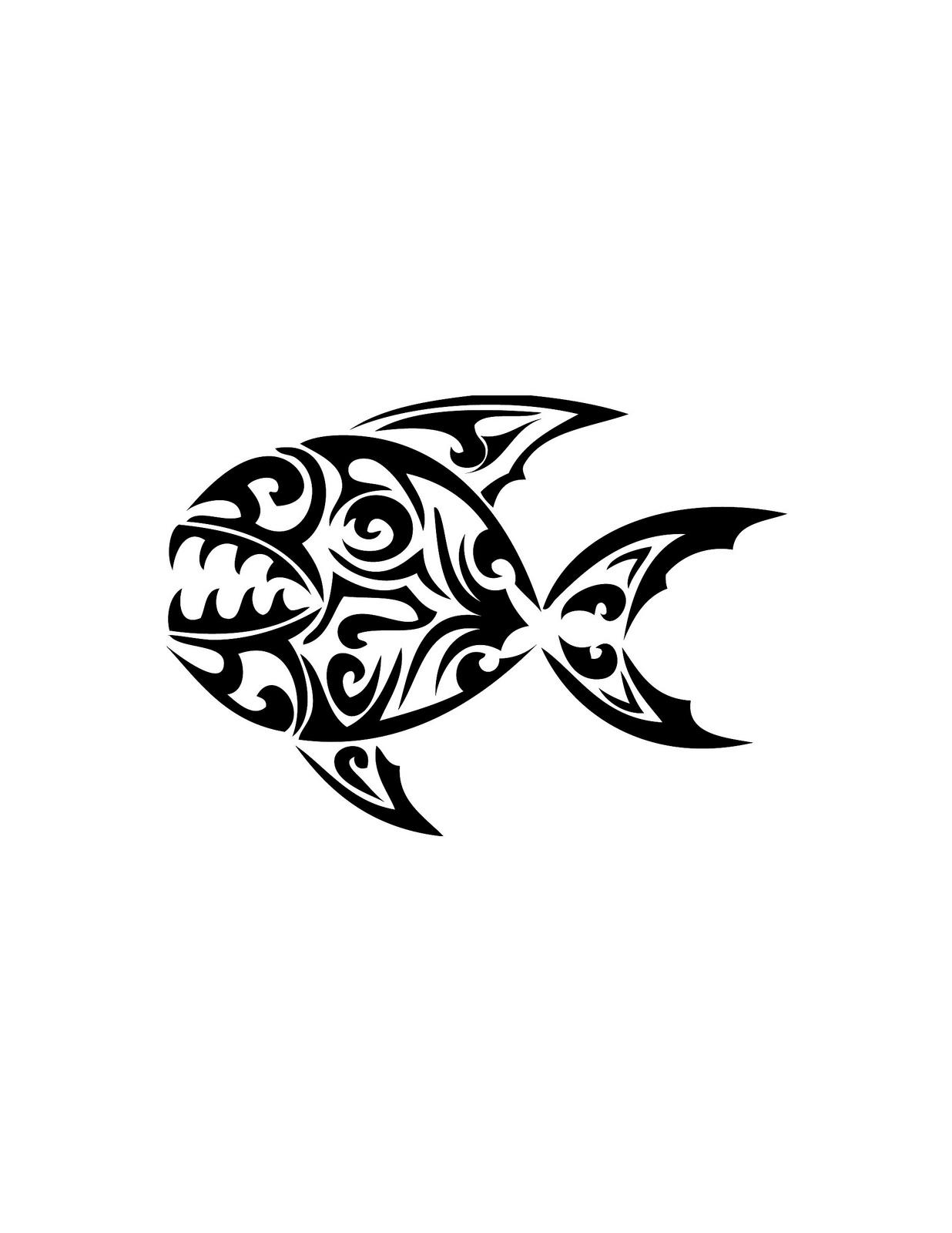 Piranha skeleton tattoo - photo#43