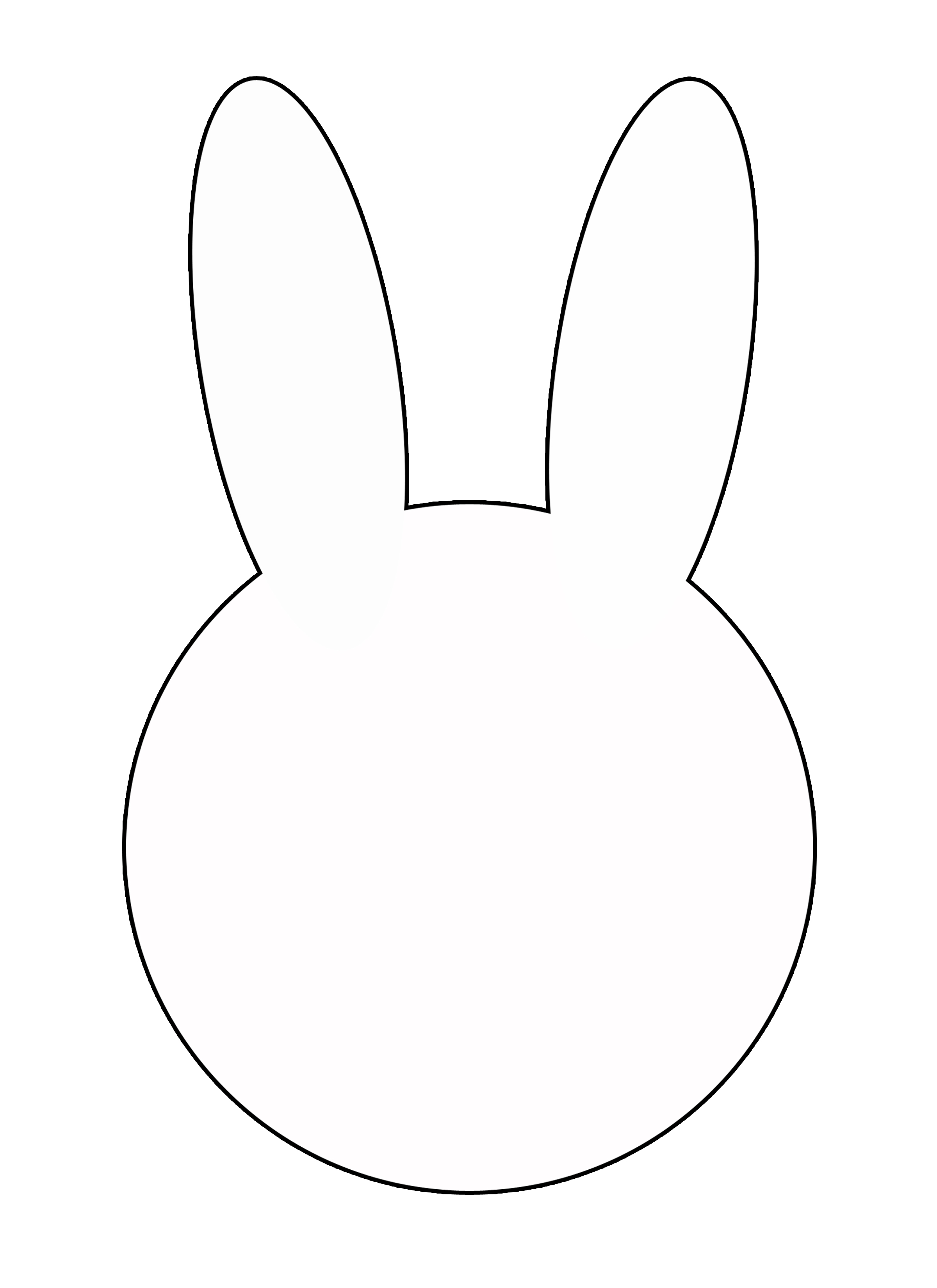 easter-bunny-head-template- ...