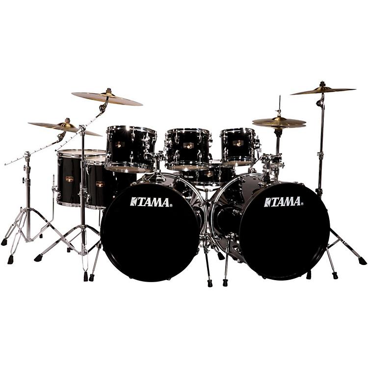 White Drum Set Drum Set With Meinl Hcs