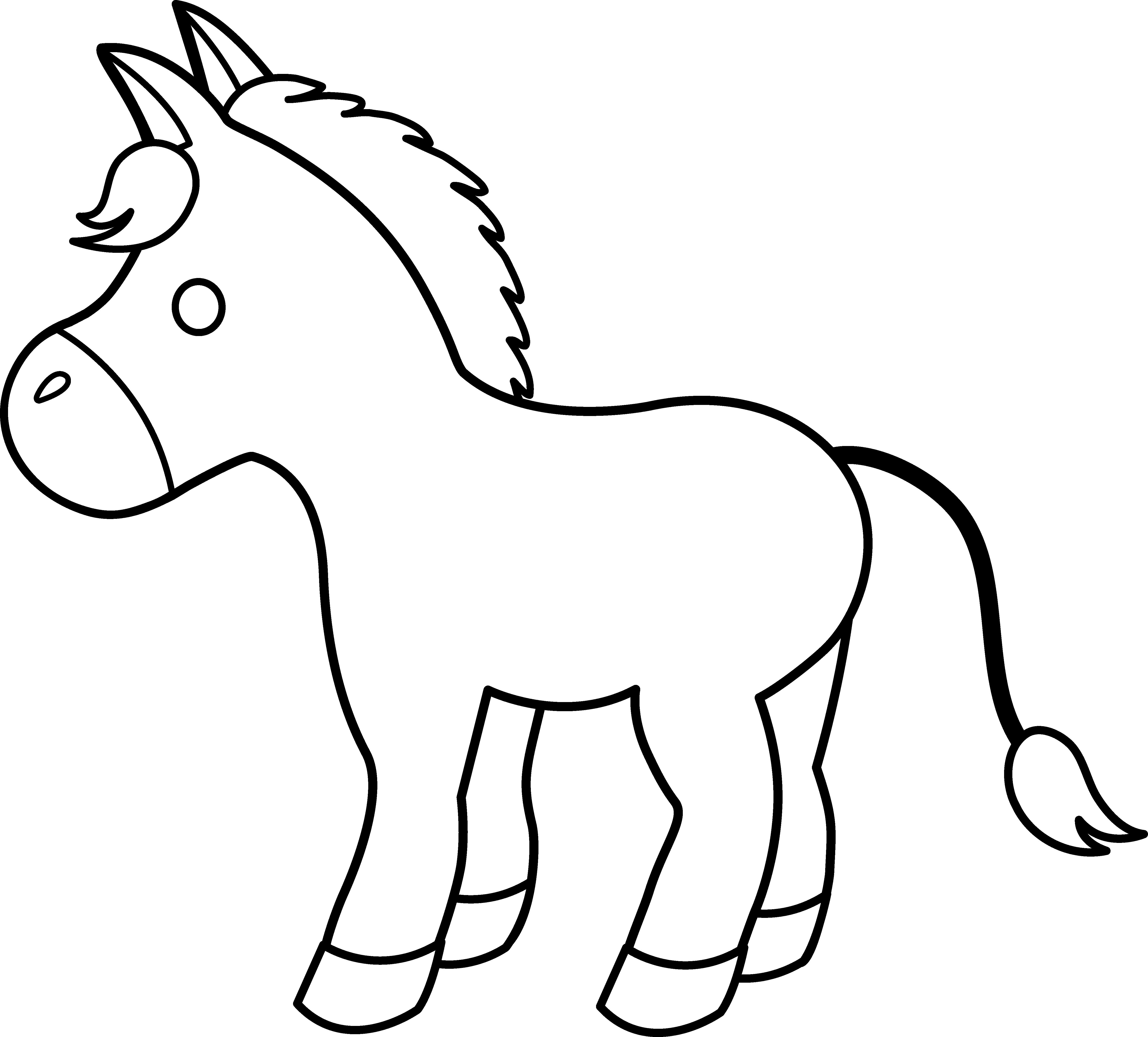 clip art donkey