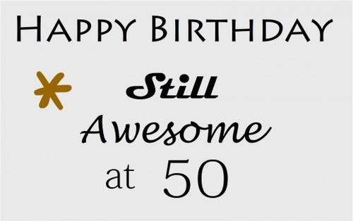 Homemade funny 50th birthday gift ideas
