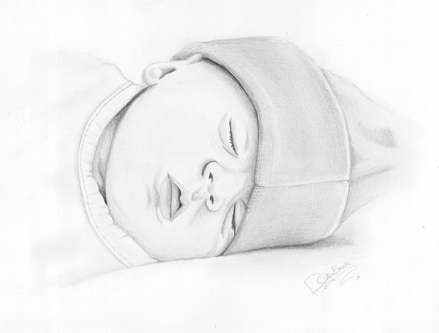 Baby Drawings - Cliparts.co