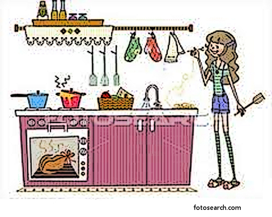 free clipart kitchen cleaning - photo #13