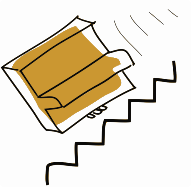stairs clipart clipartsco