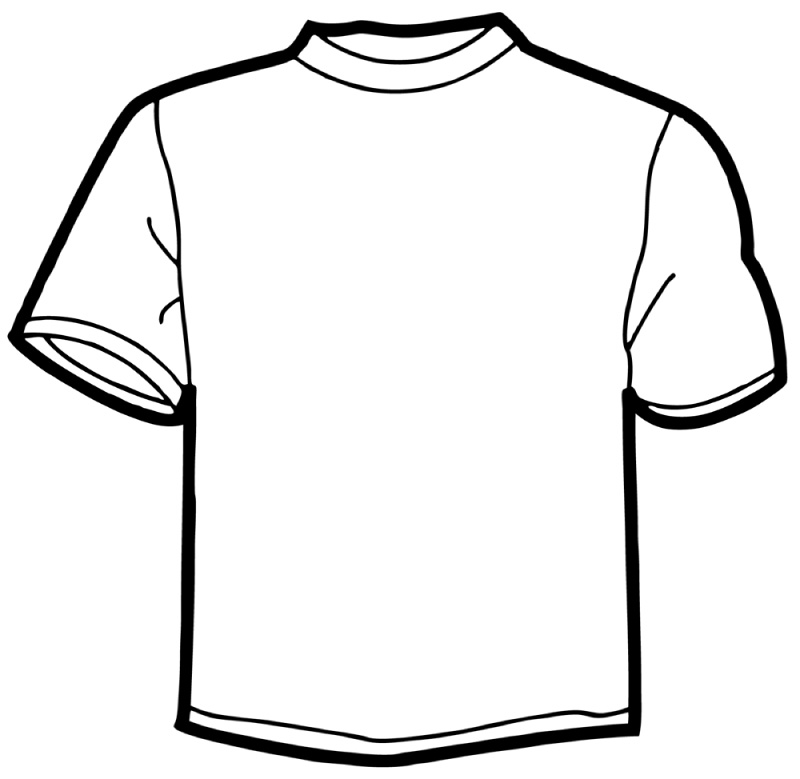 Blank T-shirt Clip Art - Cliparts.co