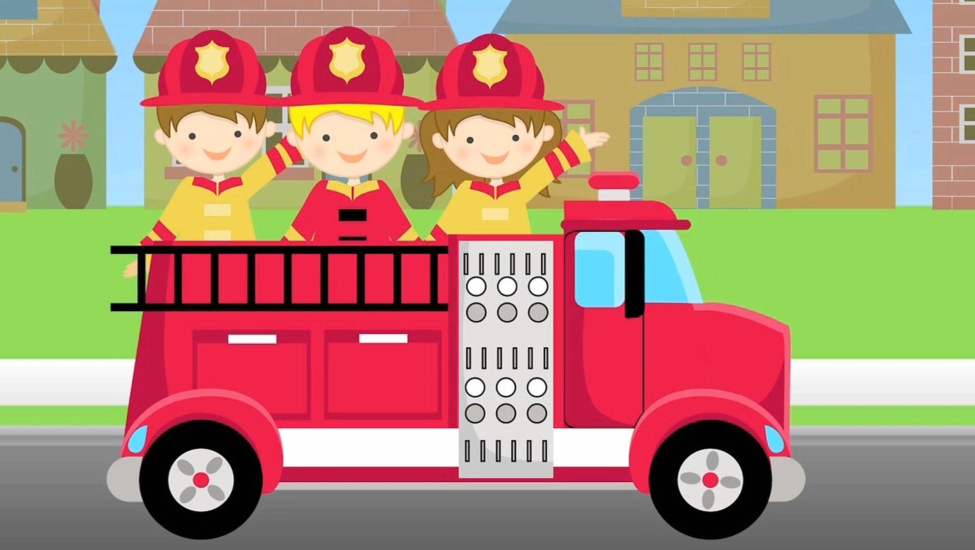 Abc Firetruck Song For Children Fire Truck Lullaby