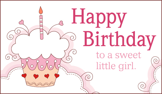 Free Sweet Girl eCard - eMail Free Personalized Birthday Cards Online