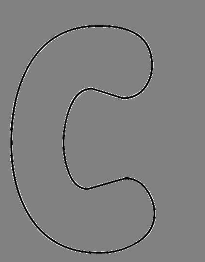 Capital Bubble Letters - Cliparts.co