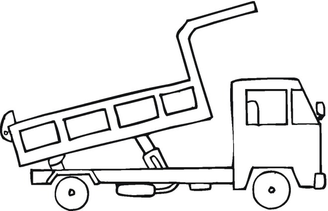 Log Truck coloring page | Free Printable Coloring Pages | 424x660