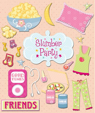 Slumber Parties | Mainely Cupcakes