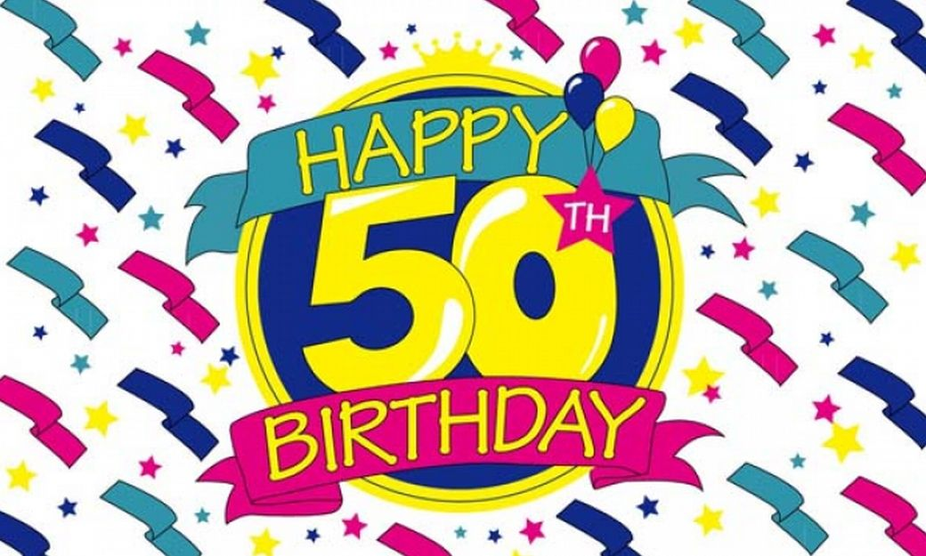 Happy 50th Birthday Wishes Cliparts Co Happy 50th Birthday Wishes