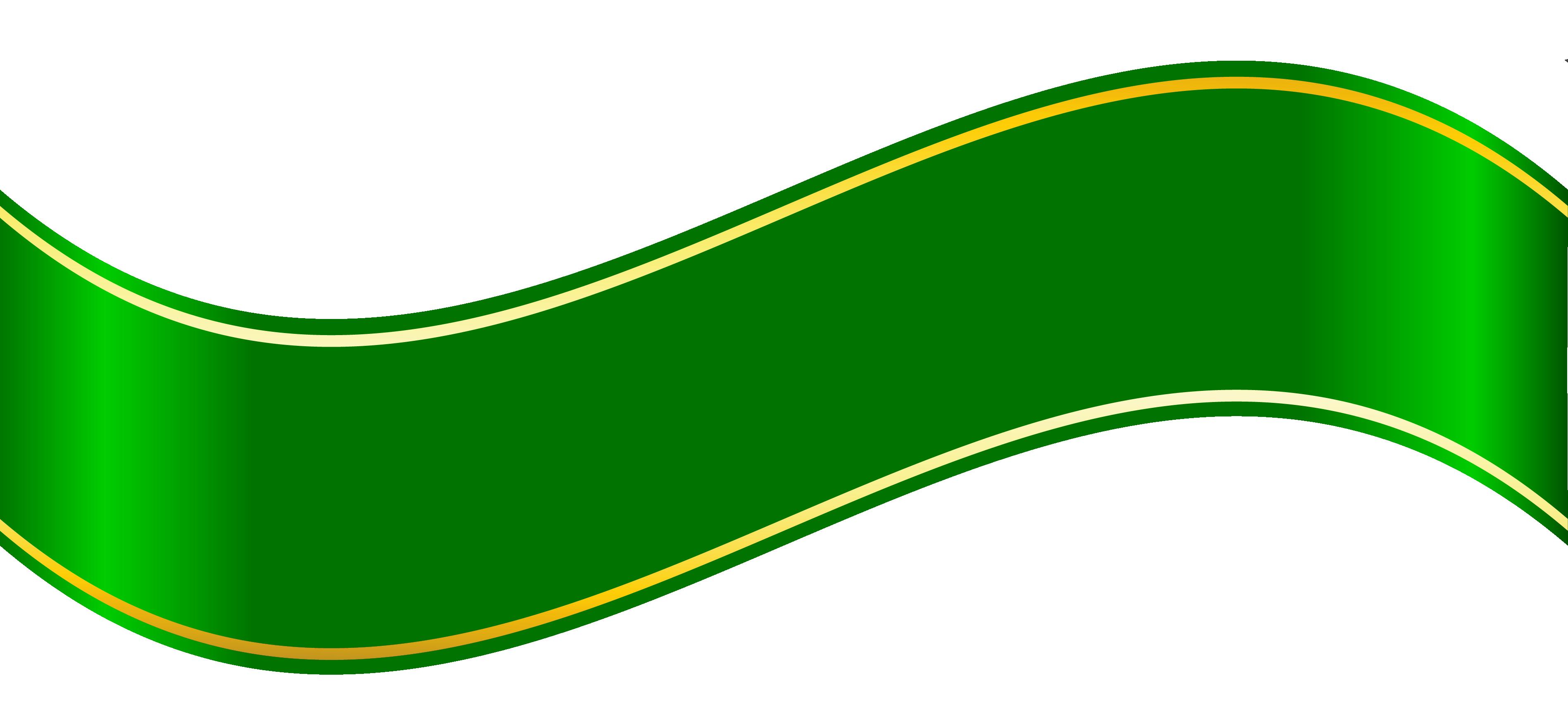 free clip art green ribbon - photo #34