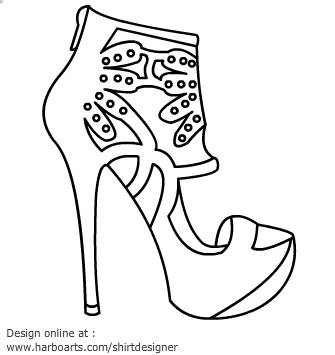 Black And White Shoes For Men Clipart