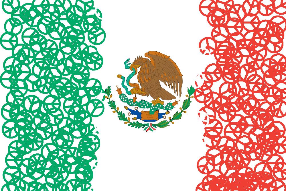 Mexico Flag Logo