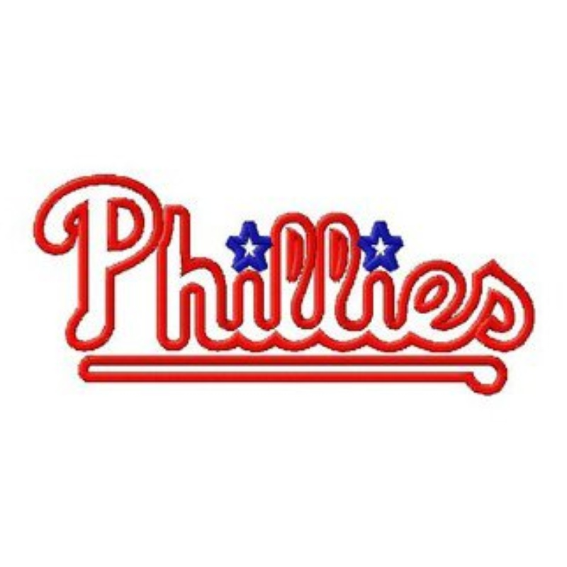 Pennsylvania Philadelphia Phillies Baseball Logo 8 Different Sizes ...
