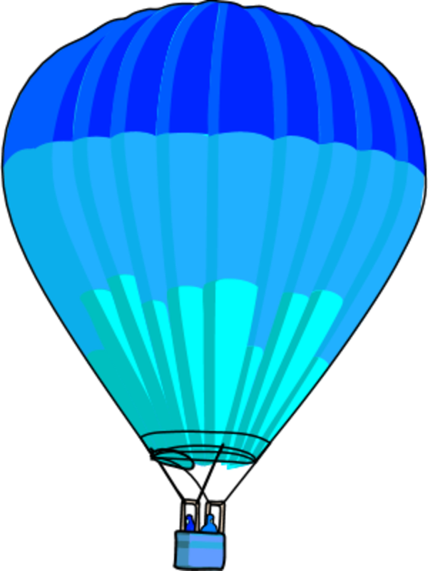 Hot Air Balloon Outline - Cliparts.co