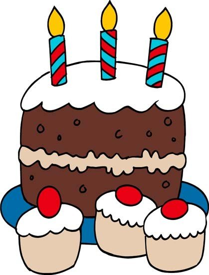 Boy Birthday Cake Clip Art | Clipart Panda - Free Clipart Images