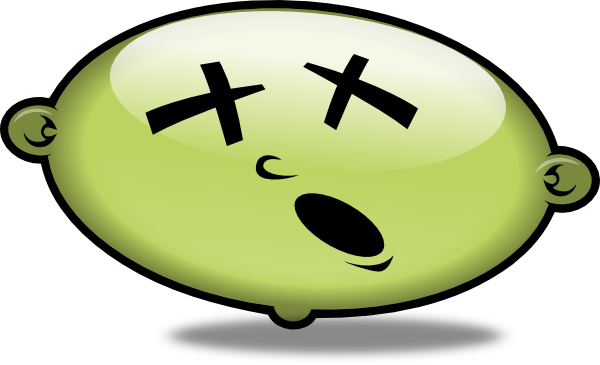 Sick Smiley Face - ClipArt Best
