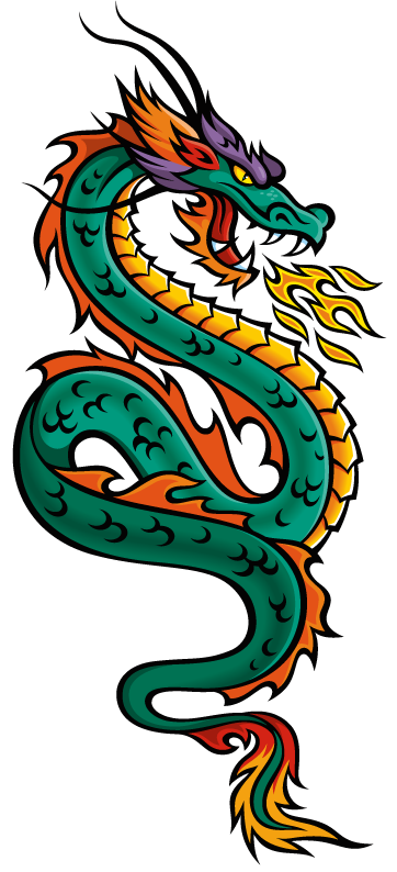 Chinese Dragon Drawing - Cliparts.co