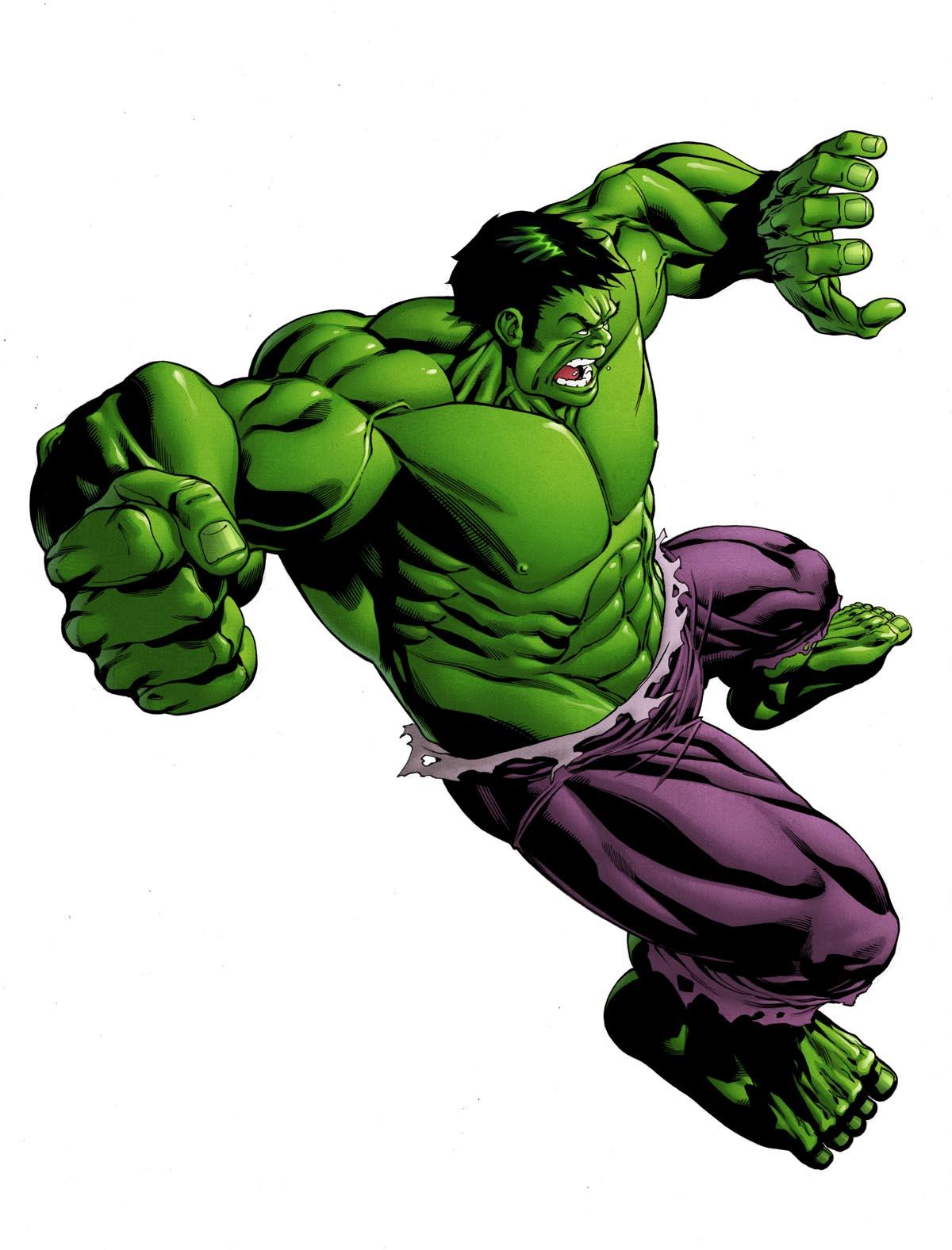 incredible hulk art gallery - photo #3
