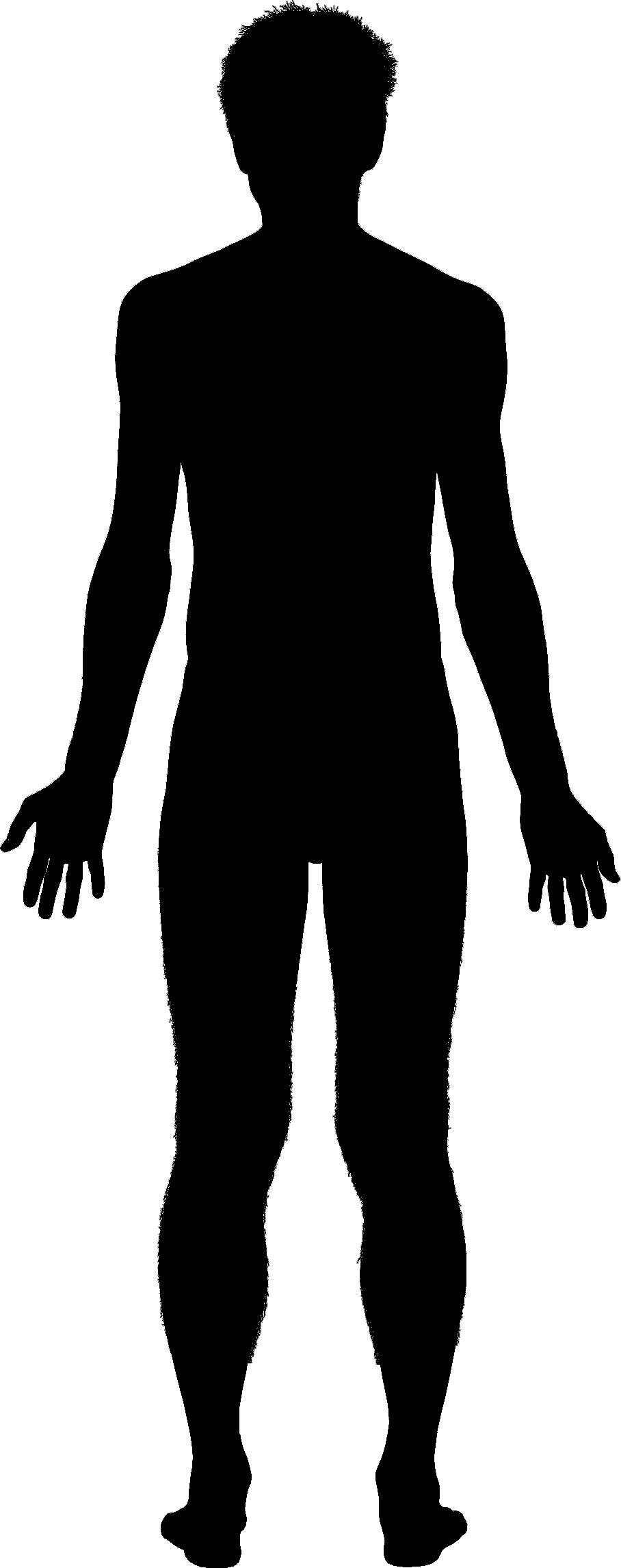Body Silhouette Clip Art - Cliparts.co