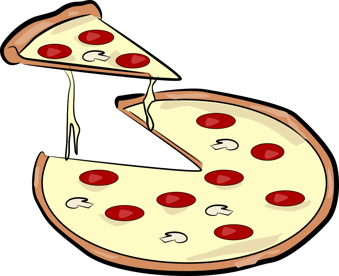 Pizza Cartoon Clip Art - Cliparts.co