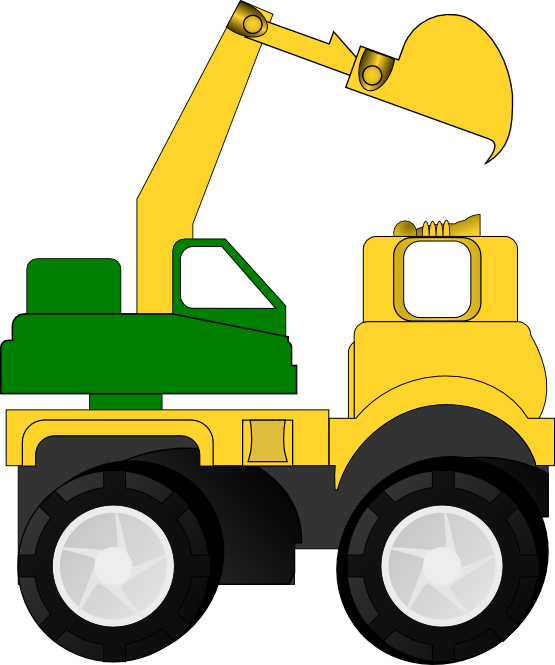 Free to Use & Public Domain Excavator Clip Art