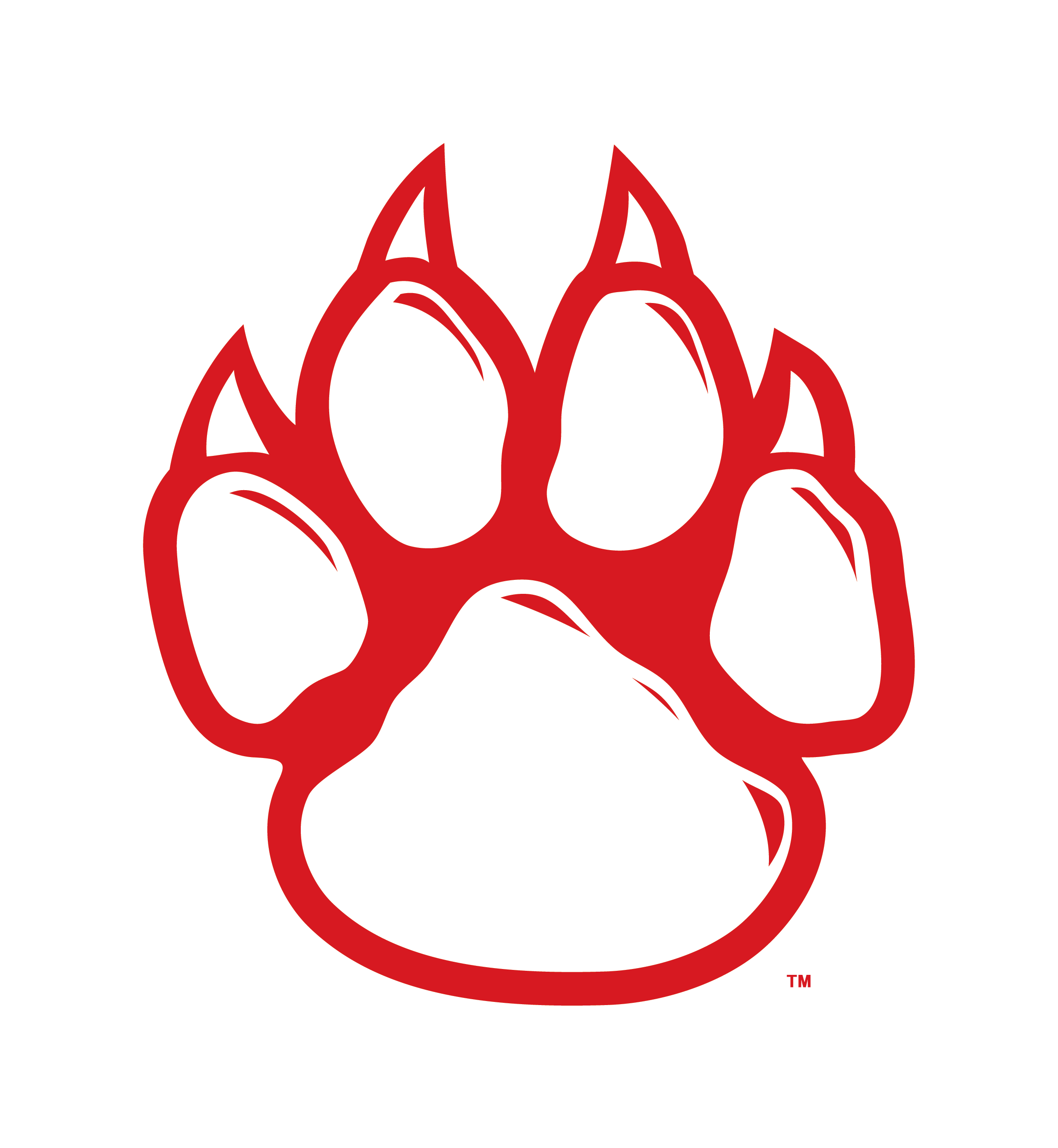 Images For > Wildcats Paw Logo