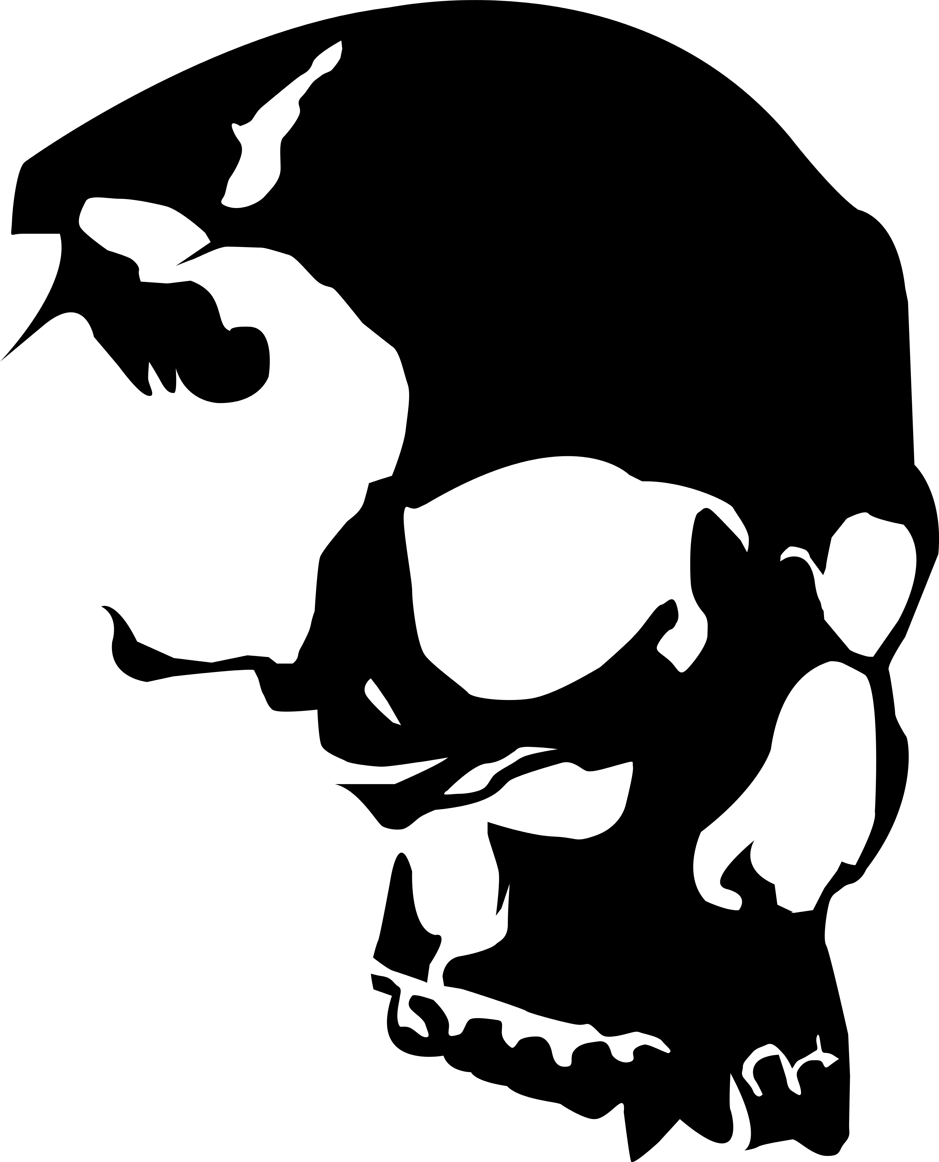 53 images of Skulls Vector . You can use these free cliparts for your ...