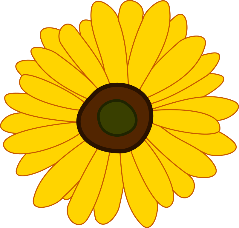 Sunflower Clipart Royalty FREE Flower Images | Flower Clipart Net