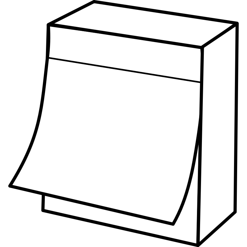 Clipart - post it