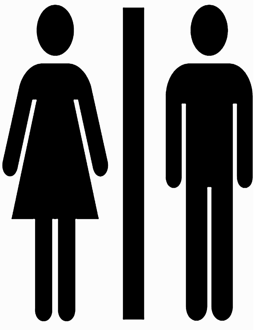 Images For > Boys Bathroom Sign Clipart
