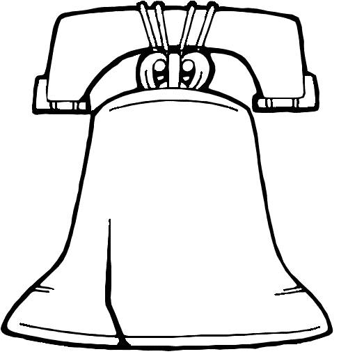 The Liberty Bell Coloring Page