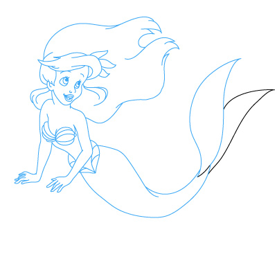 How to Draw Little Mermaid | Fun Drawing Lessons for Kids & Adults