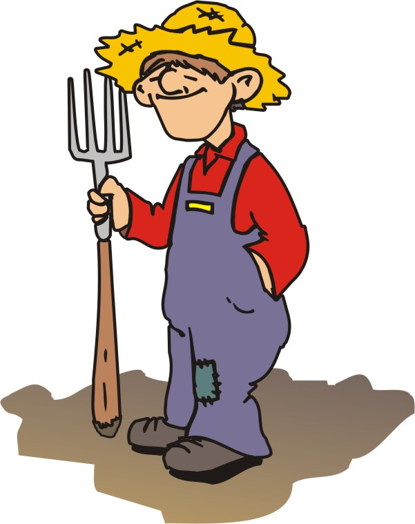 Farmer Cartoon Clip Art - Cliparts.co