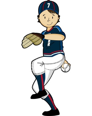 Cartoon Baseball Pitcher - Cliparts.co