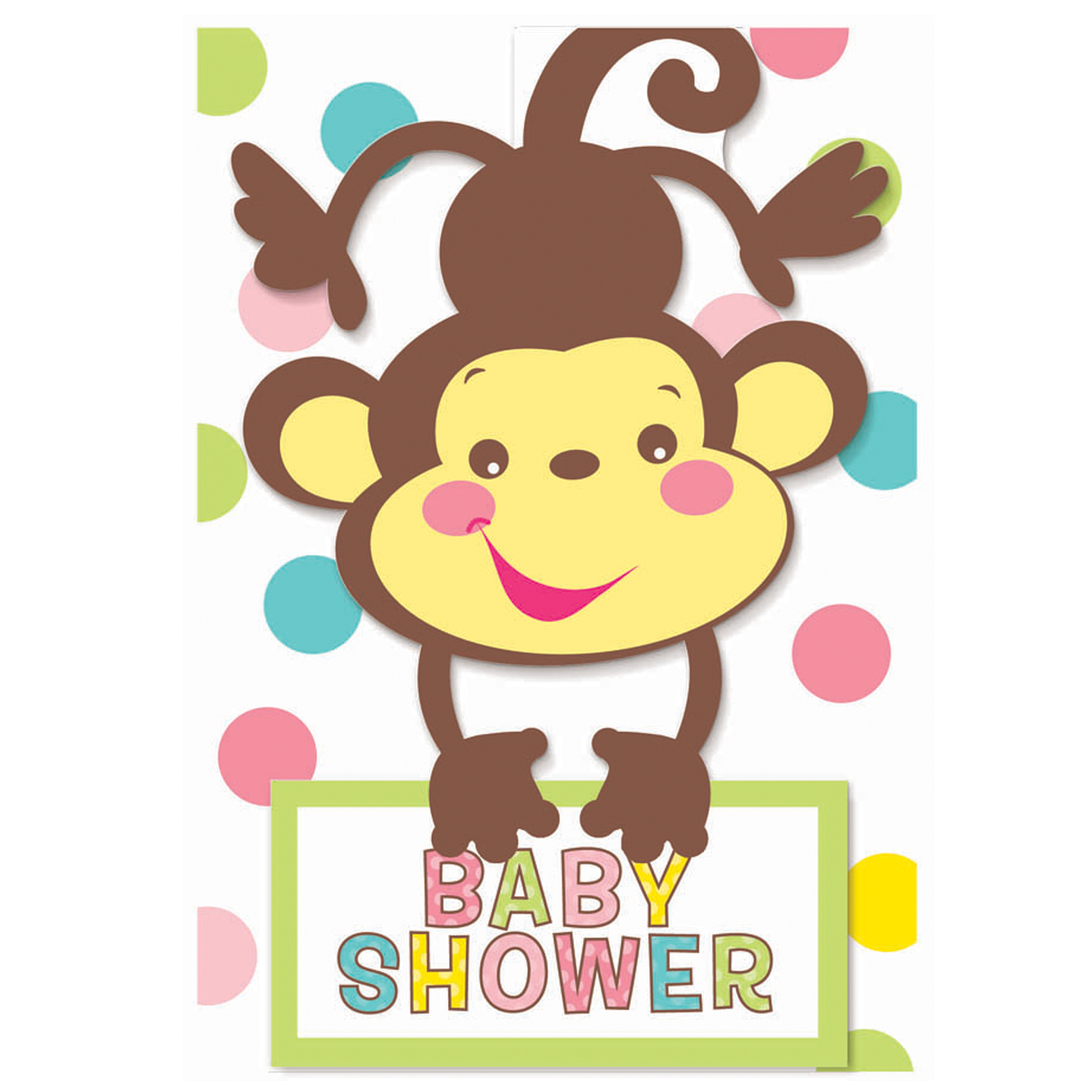 monkey baby shower theme for girls