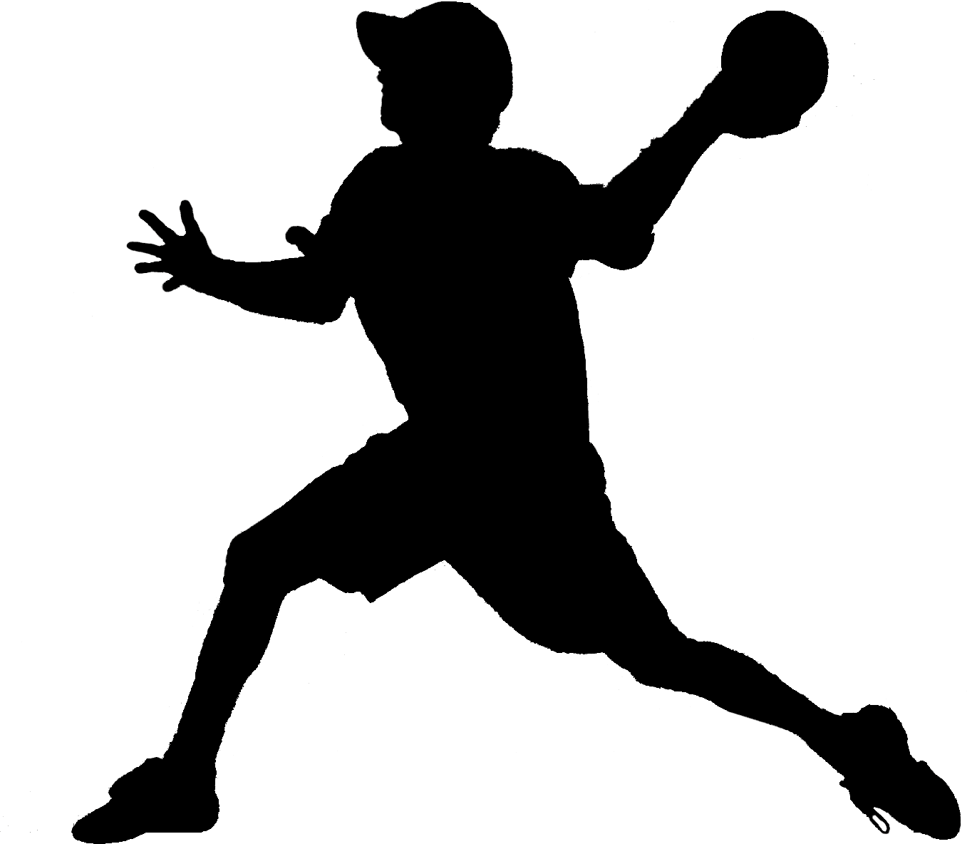 free dodgeball clipart illustration