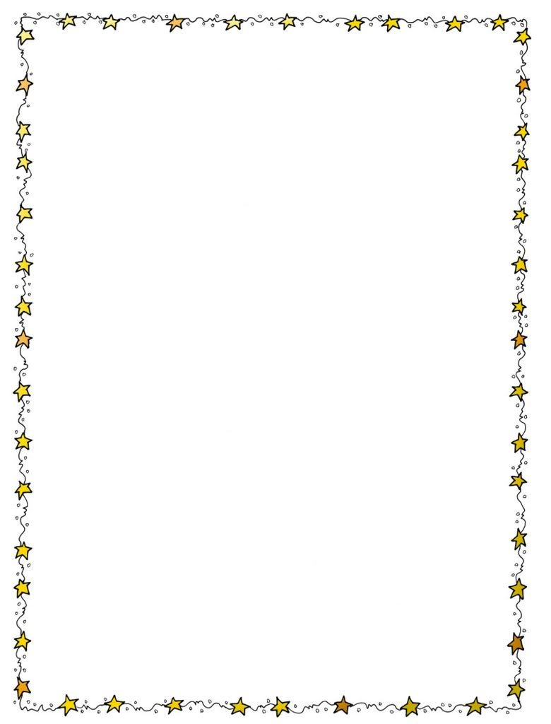 Star Page Borders - Cliparts.co