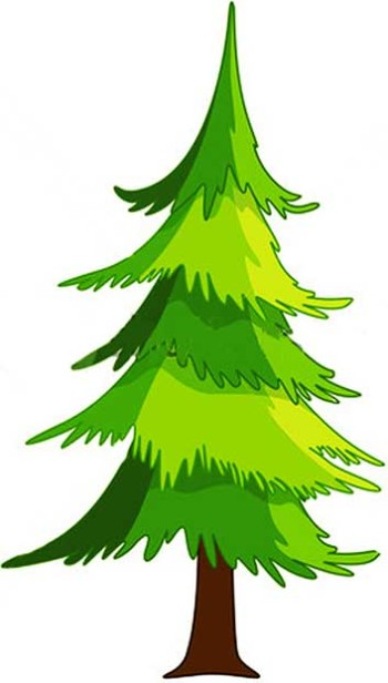 Cartoon Tree | clip art, clip art free, clip art borders, clip art ...
