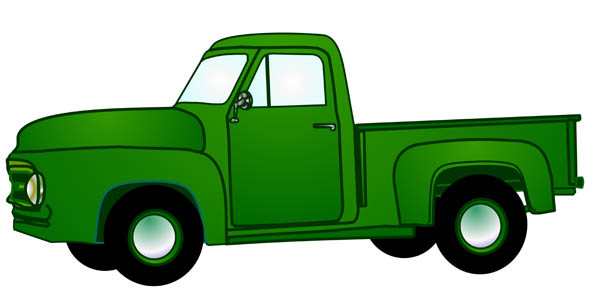 free clip art cartoon trucks - photo #15