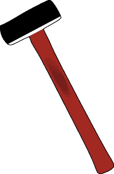 Sledge Hammer Clip Art - Vector Clip Art Online, Royalty ...